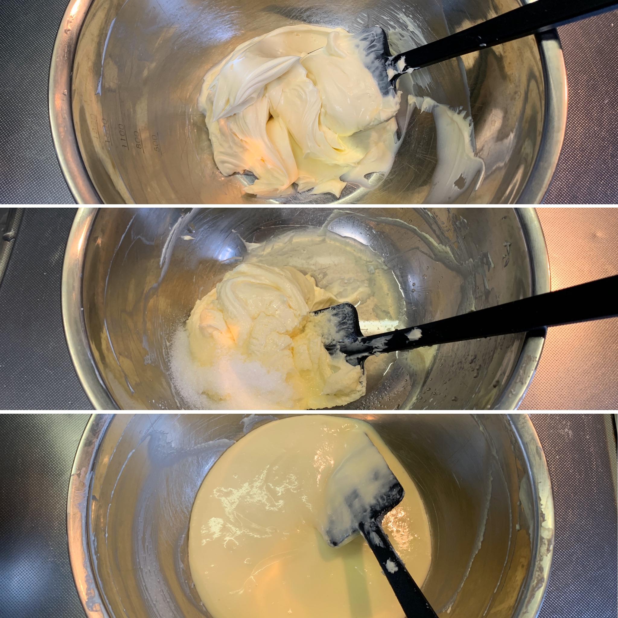 レアチーズケーキレシピ簡単シバブル