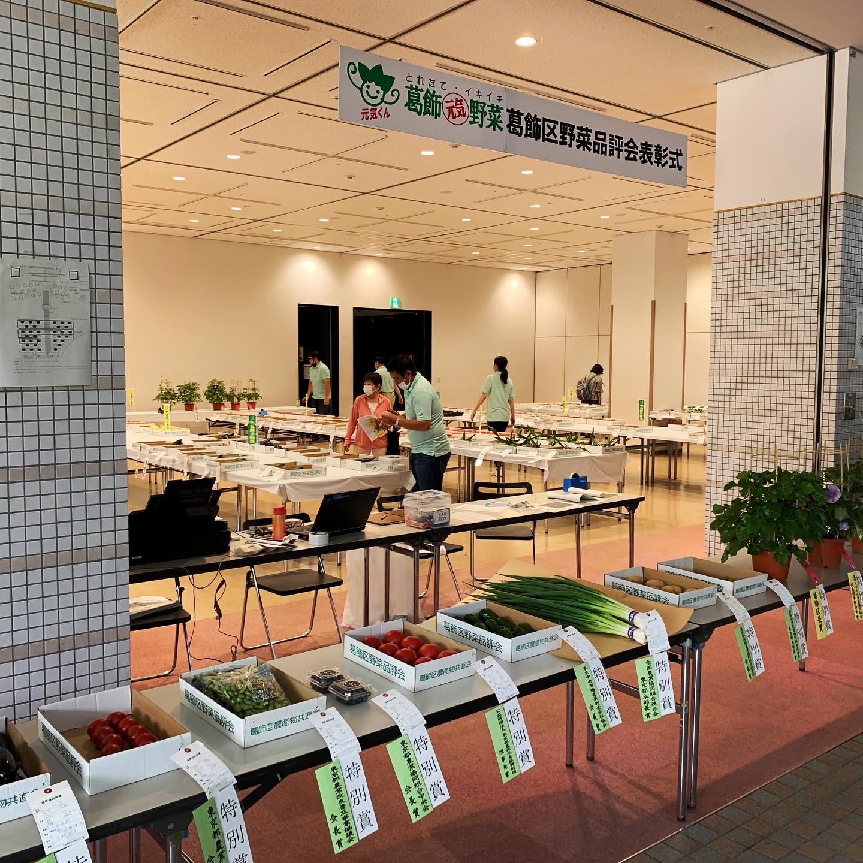 葛飾区夏野菜品評会